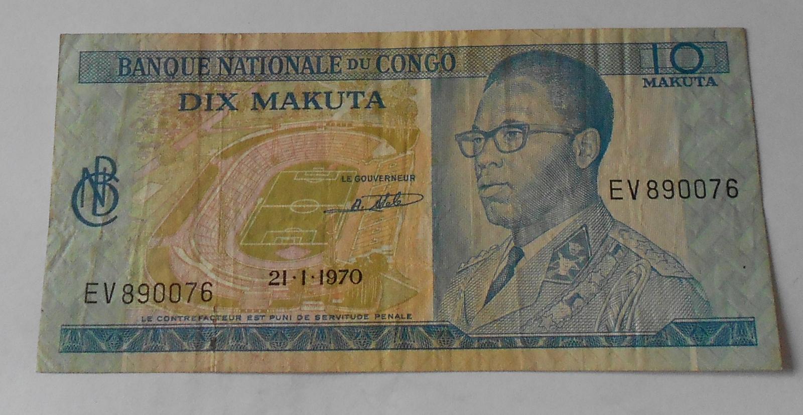 Kongo 10 Mahuta 1970