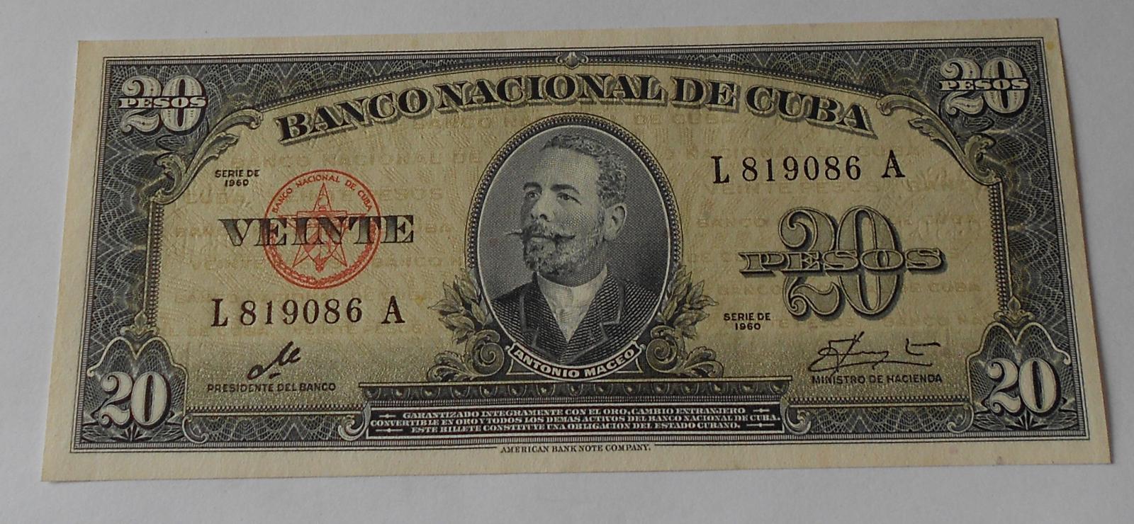 Kuba 20 Peso 1960