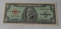 Kuba 5 Peso 1960