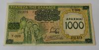 Řecko 1000 Drachem 1939
