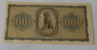 Řecko 1000 Drachem 1942