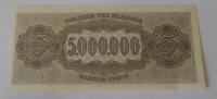 Řecko 5 mil. Drachem 1944
