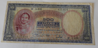 Řecko 500 Drachem 1939