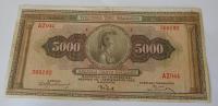 Řecko 5000 Drachem 1932