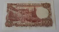 Španělsko 100 Peseta 1970