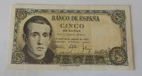 Španělsko 5 Peseta 1951