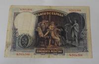 Španělsko 50 Peseta 1931