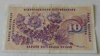 Švýcarsko 10 Frank 1977