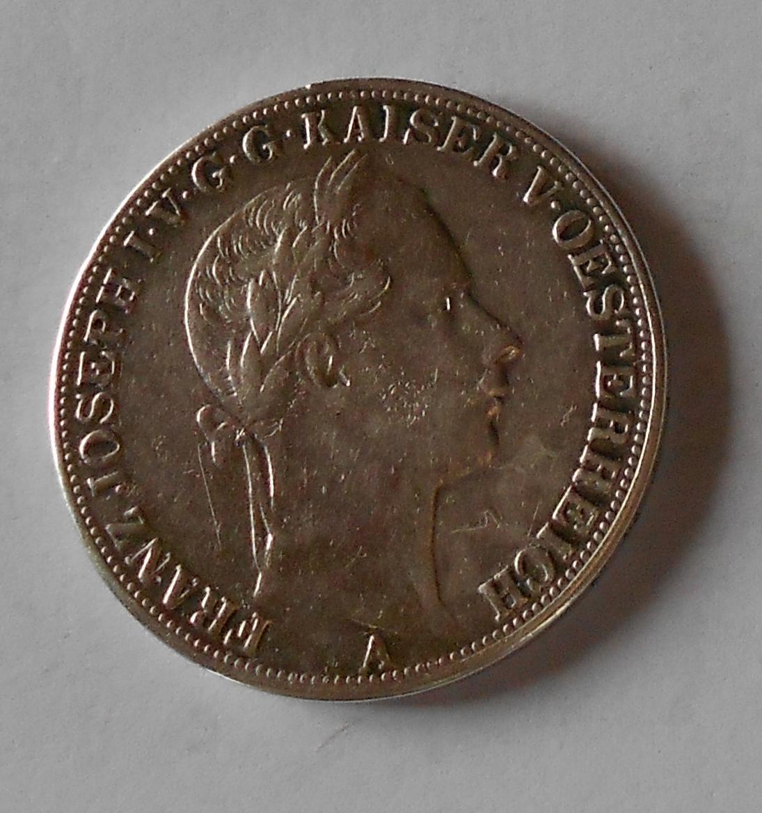 Tolar spolkový 1858 A měl ouško