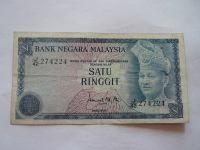 1 Ringit, král-modrá, Malaysie