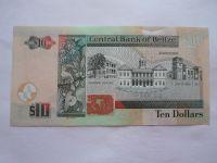 10 Dollars, 2011 Belize