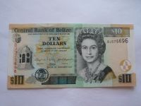 10 Dollars, 2011 Belize