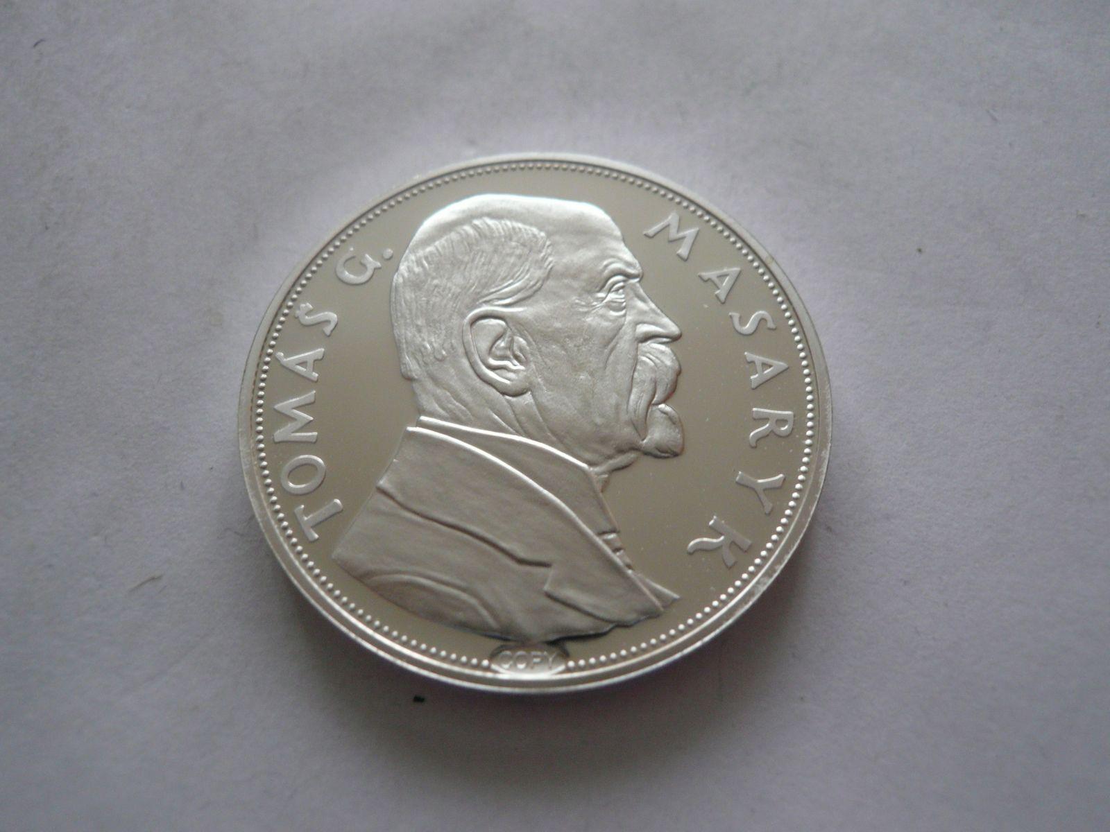 10 Kč portrét TGM, 1928, ČSR