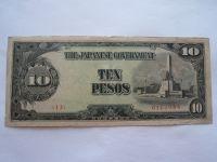 10 Pesos, 1977 Japonsko - okupační