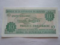 10 Ubumwe, 1997 Burundi