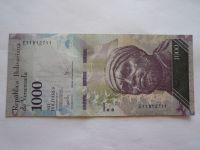 1000 Bolivares, 2017, Venezuela