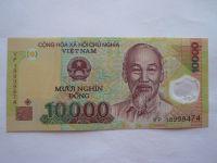10000 Dong, Hočimin+přístav, Vietnam