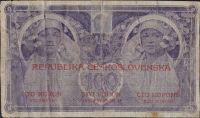 100Kč/1919/, stav 5, série 0018