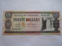 20 Dollars, vodopád, Guyana