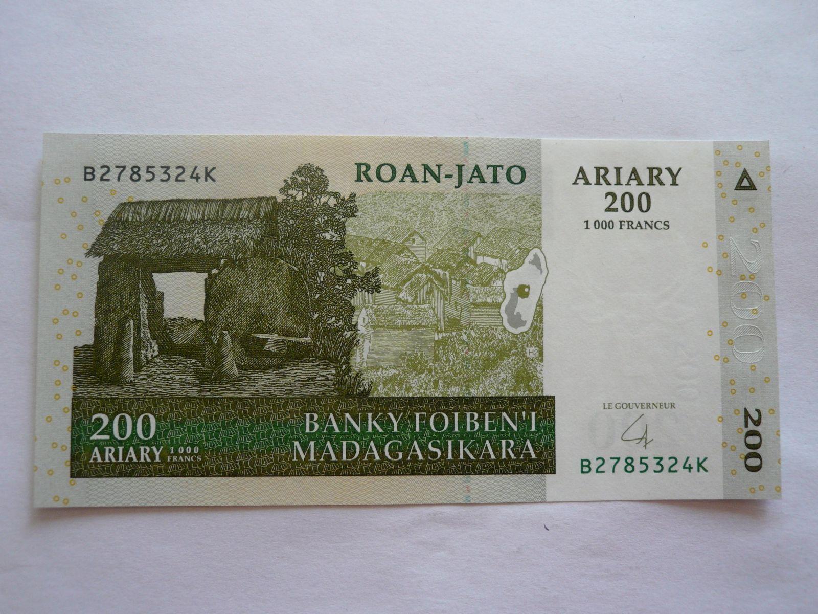 200 Ariary, 2004, Madagaskar