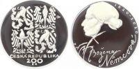 200 Kč(2020-Božena Němcová), stav PROOF, etue a certifikát