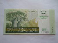 2000 Ariary, 2007-2012, Madagaskar