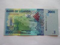 2000 Schillings, 2017 Uganda