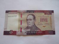 5 Dollars, 2016 Liberie