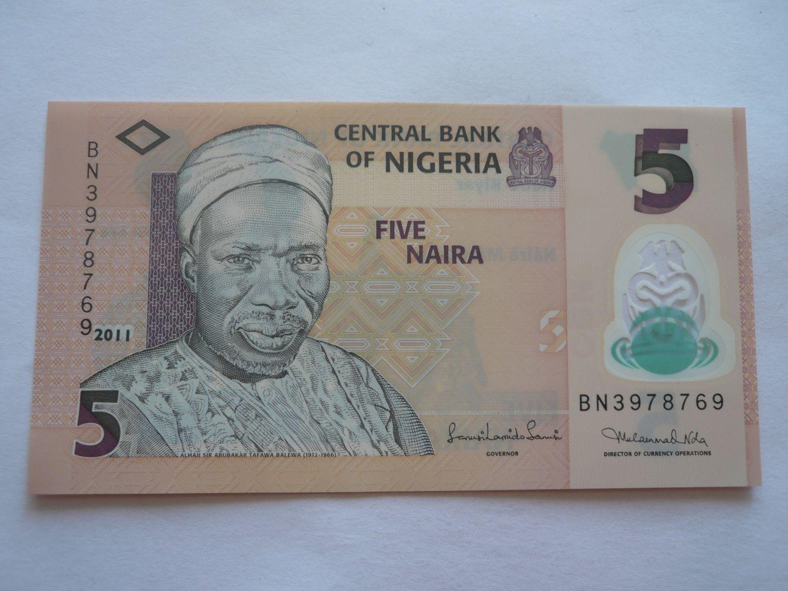 5 Naira, 2011 Nigerie