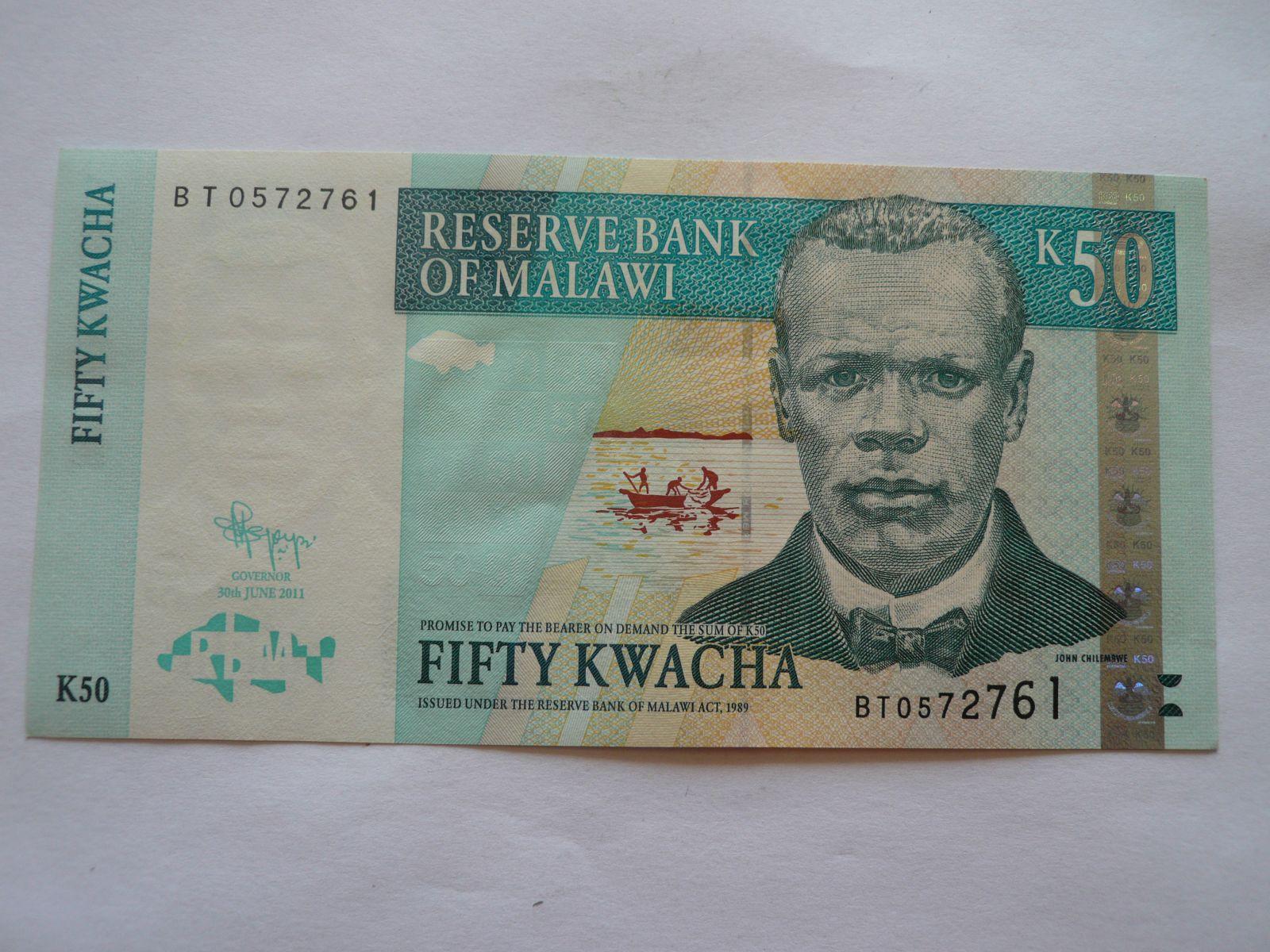 50 Kwacha, 2011 Malawi