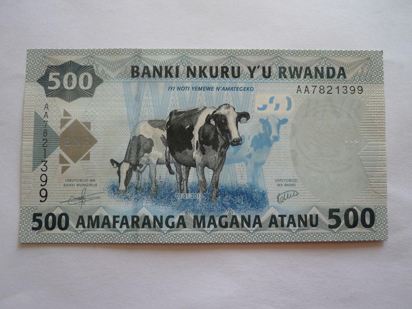 500 Amafar, školáci, Rwanda