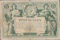 5Gulden/1881/, stav 4, série Ih 46