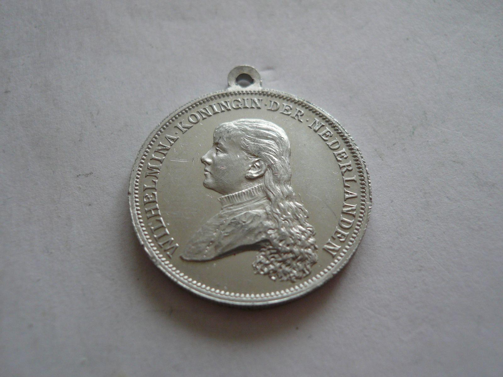 Alu medaile královna Wilhelmina, Holandsko