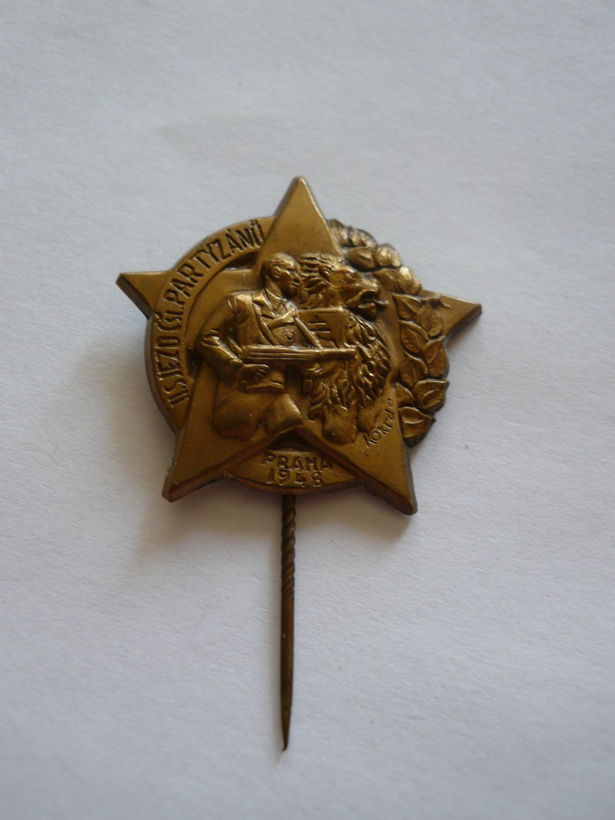 II.sjezd partyzánů 1948, ČSR