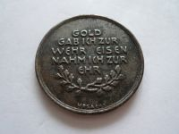 """medaile """"In eiserner Zeit"""", 1916, Německo"""