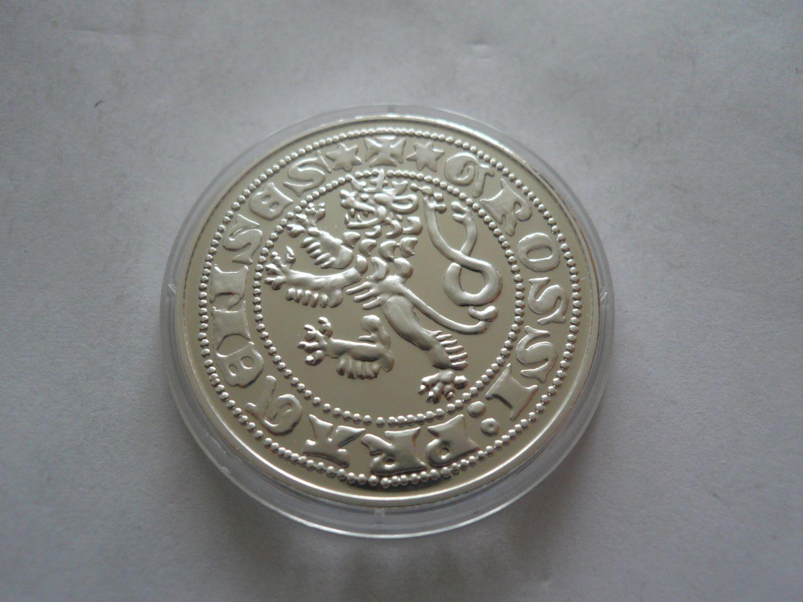 medaile Pražský groš, ČSR