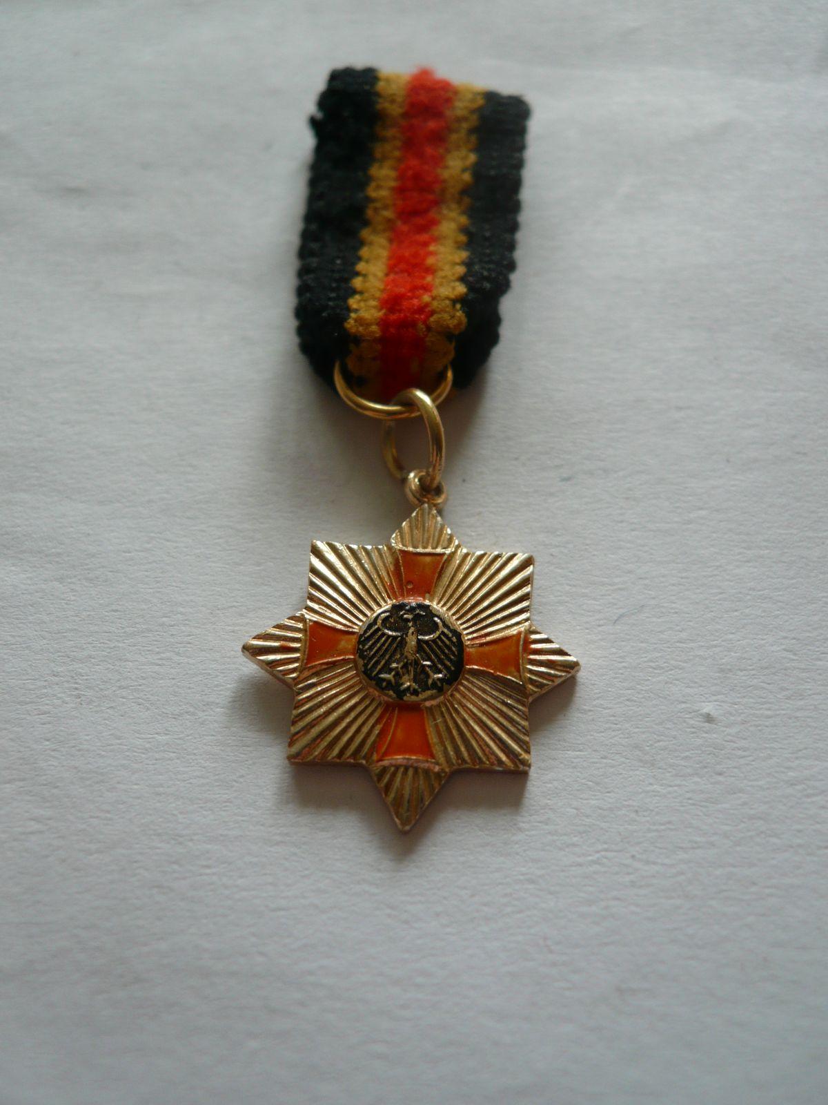 miniatura záslužného kříže, Německo