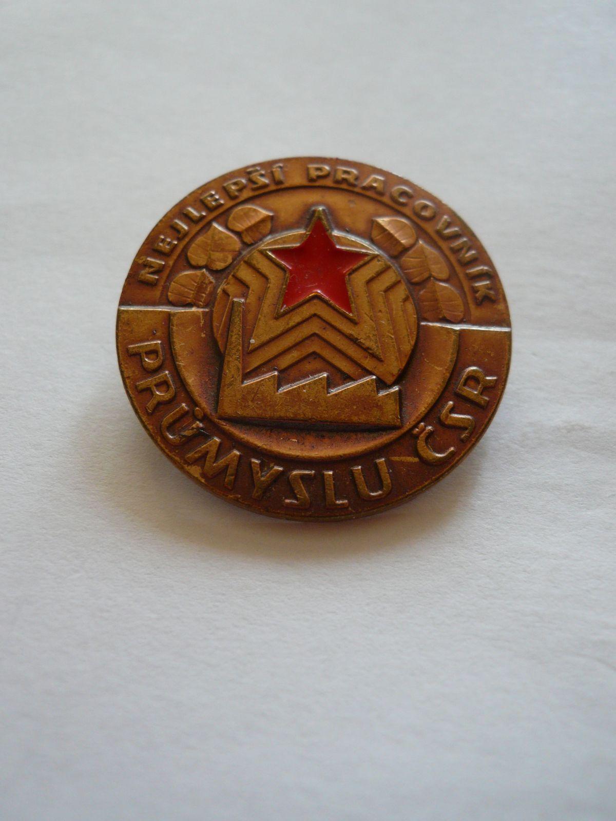 Nejlepší pracovník průmyslu ČSSR