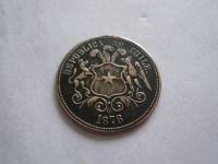státní znak 1878, bronz ? 27mm, Chile