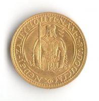 Svatováclavský 1 Dukát (1928-Au 986-3,49g), stav 0/0 pěkná patina hr., raženo 18.983 ks.