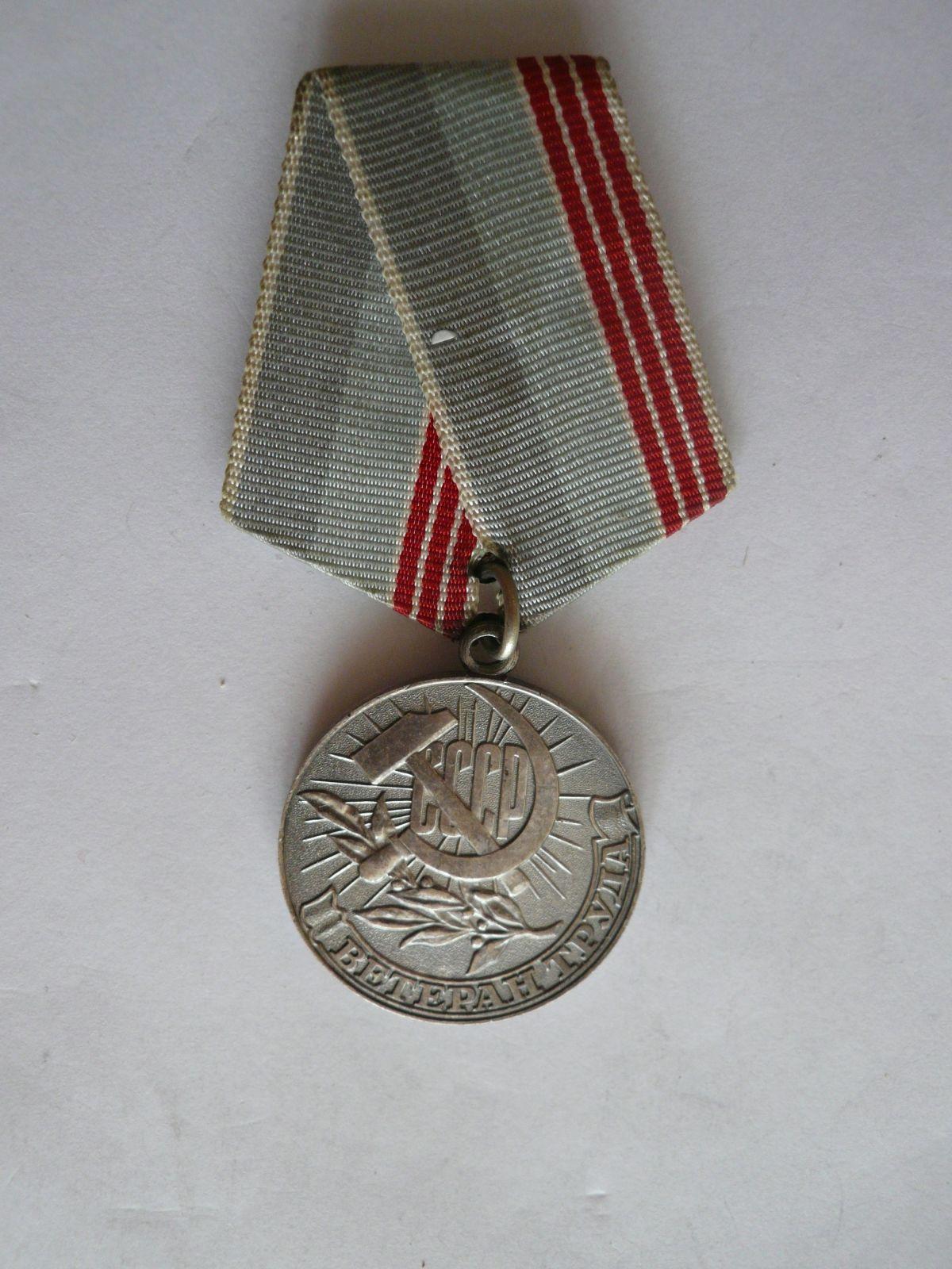 Veterán práce - SSSR