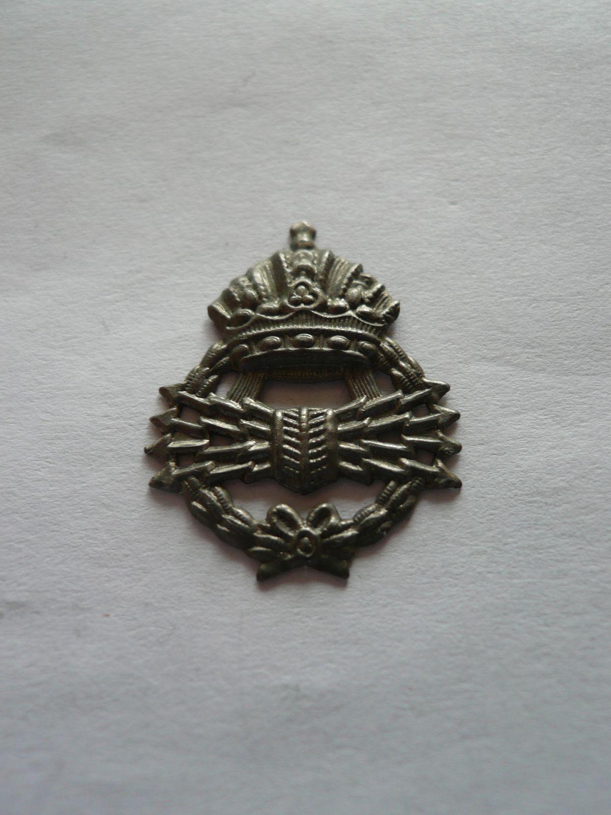 Vojenský spojar.plech.nášivka, Rakousko