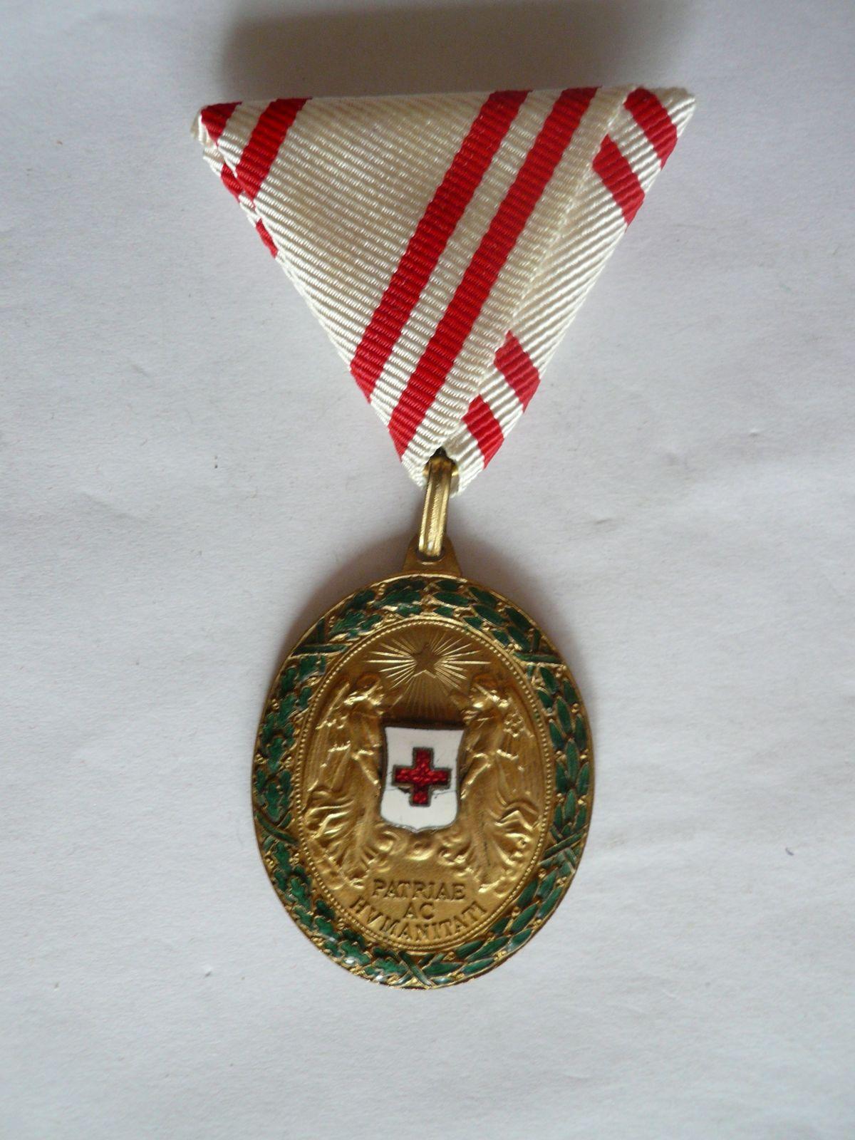 Záslužná medaile ČK, zlacený bronz, Rakousko