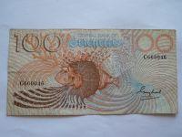 100 Rupies, rybář, Seychelles
