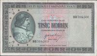 1000Kčs/1945-bl/, stav 2+, série BB