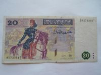 20 Dinars, Kolumbie, 1987 Tunnis