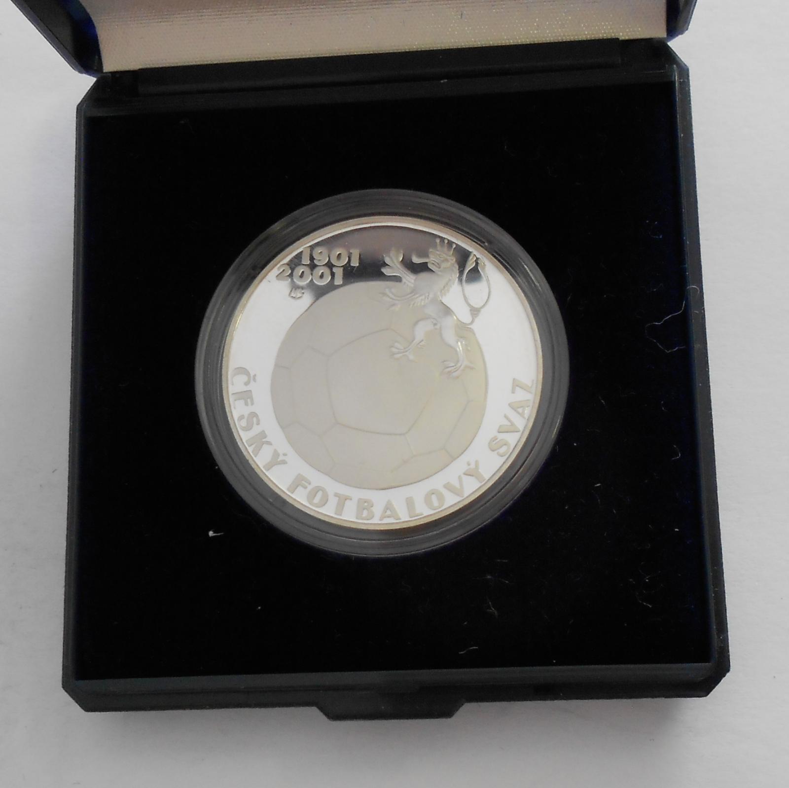 200 Kč(2006-fotbal), stav PROOF, etue a certifikát