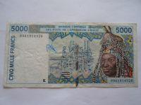 5000 Frank, trh, Východní Afrika