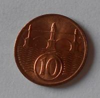 ČSR 10 Haléř 1938 stav