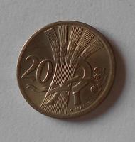 ČSR 20 Haléř 1938